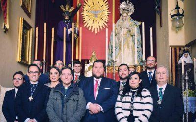 EL CONSEJO ASISTE A LA TOMA DE POSESIÓN DE LA HERMANDAD DEL CONSUELO