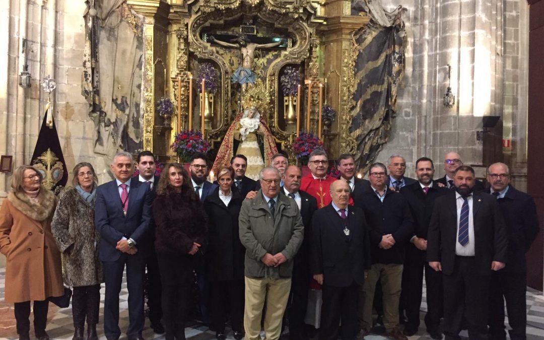 EL CONSEJO ASISTE A LA TOMA DE POSESIÓN DEL HERMANO MAYOR DE LA VIGA