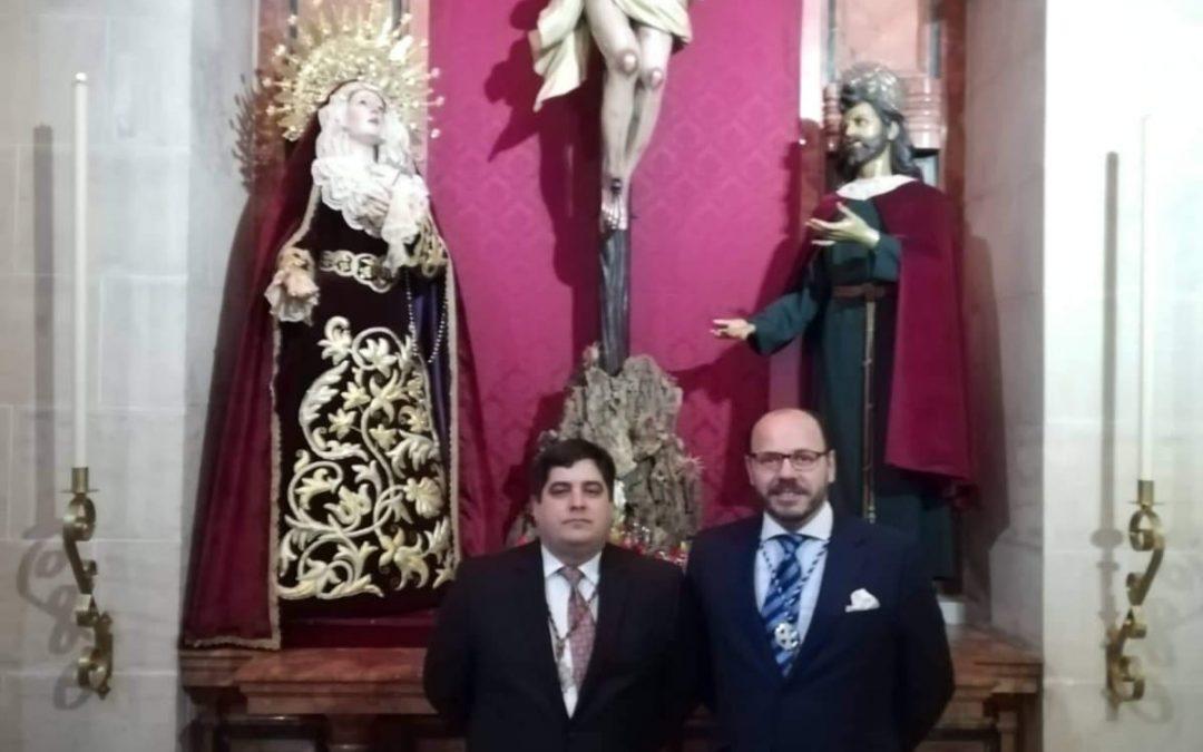 El CONSEJO ASISTE A LA TOMA DE POSESIÓN DEL HERMANO MAYOR DE LA LANZADA