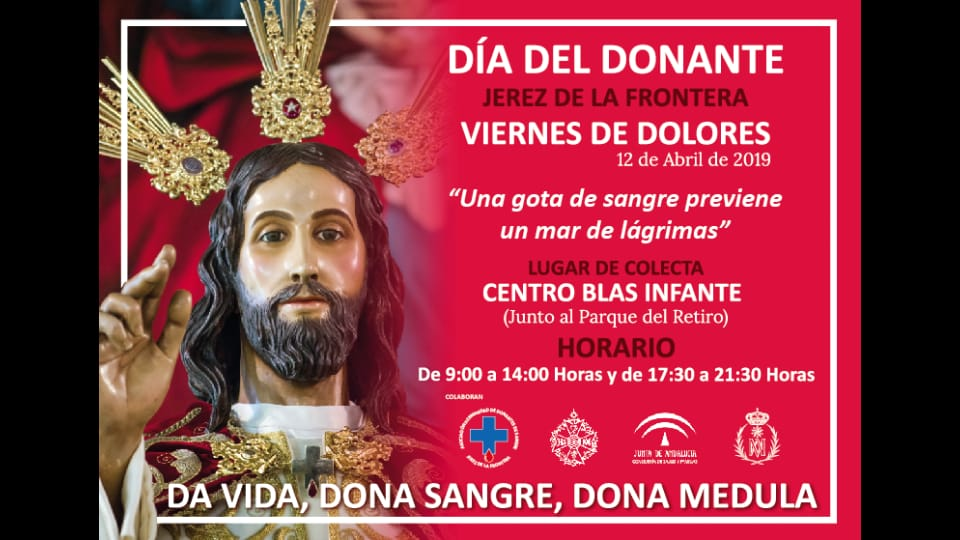 VIERNES DE DOLORES, DÍA DEL DONANTE