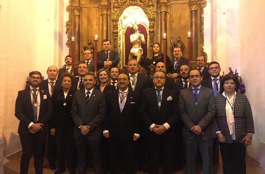EL CONSEJO ASISTE A LAS TOMAS DE POSESIÓN DE LOS JUDÍOS Y SANTA MARTA