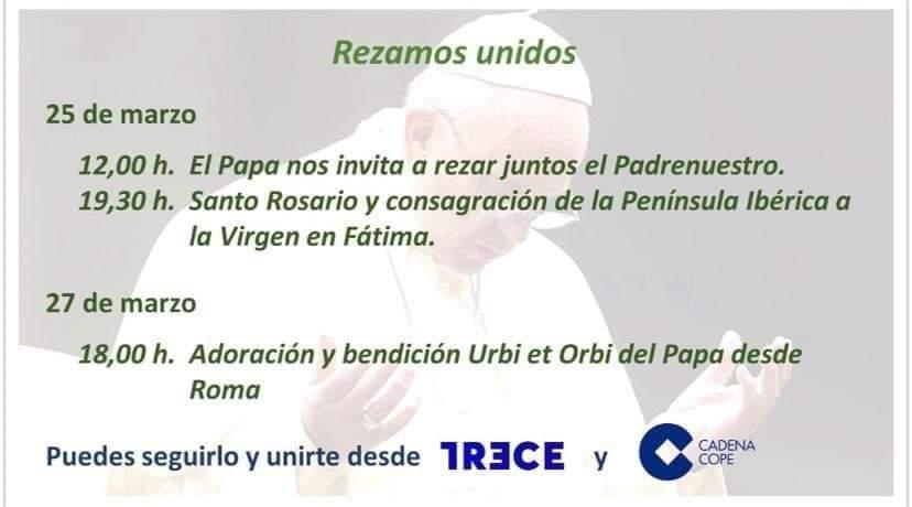PADRE NUESTRO DE TODA LA CRISTIANDAD